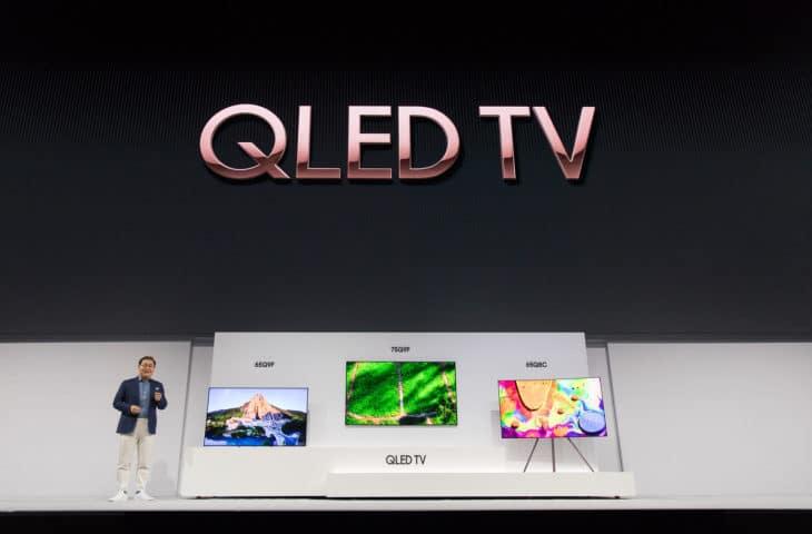 Samsung presenta le nuove Smart TV QLED 2018