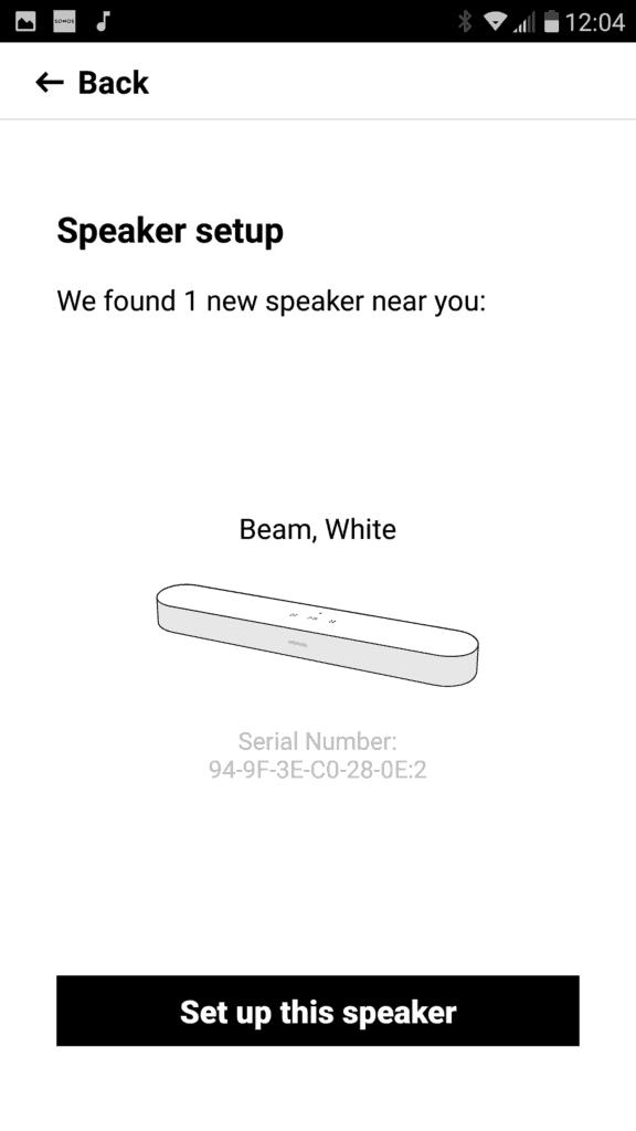 Sonos Beam Soundbar